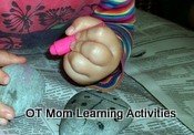5 finger pencil grasp - toddler