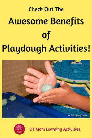 playdough activities benefit your child