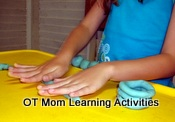 fun playdough activity