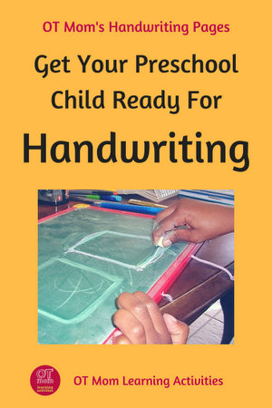 Tips and ideas to give your preschool child the best possible foundation for learning handwriting.
