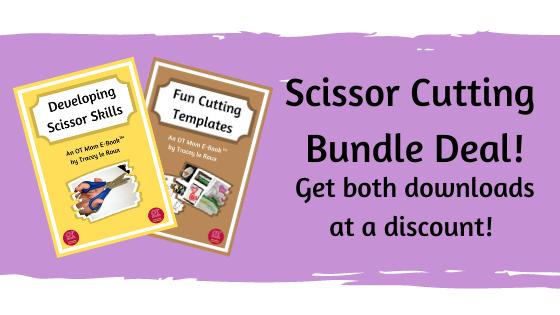 scissor skills and cutting templates bundle deal