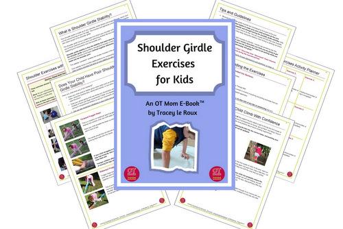 shoulder exercises for kids printable download