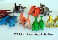 Tactile Perception Dinosaur Toys