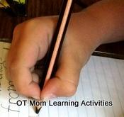 tripod pencil grasp