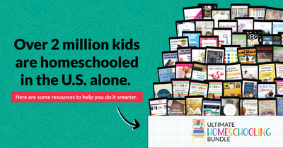 Will the resources in the Ultimate Homeschooling Bundle help you?