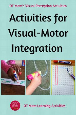 visual motor integration activities