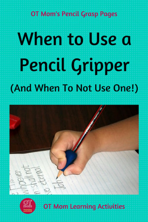 When to use a Pencil Grip