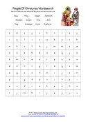 christmas word searches for kids