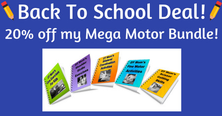 Back to school bundle deal discount for OT Mom E-books