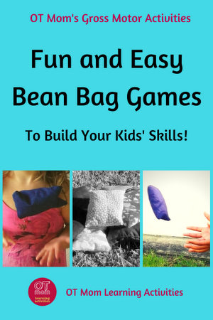 Bean bag games and activities to build kids' skills!