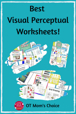 best visual perception printable worksheets