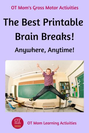 printable brain breaks for kids