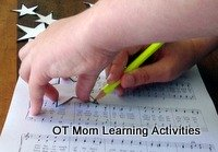 paper craft tracing activity