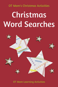 printable Christmas word searches