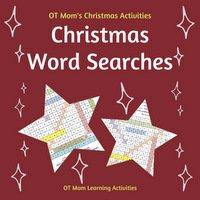 printable Christmas word searches