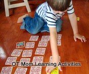 Child spontaneously crossing the midline