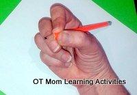 Dynamic tripod pencil grip