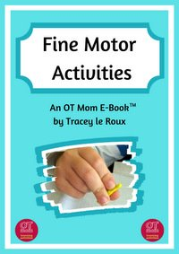 e-book of fine motor activities for kids