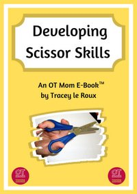 printable e-book to help your child with scissor skills