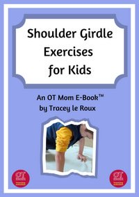 e-book of shoulder girdle exercises for kids