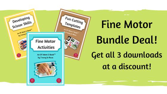 bundle deal of 3 fine motor e-books