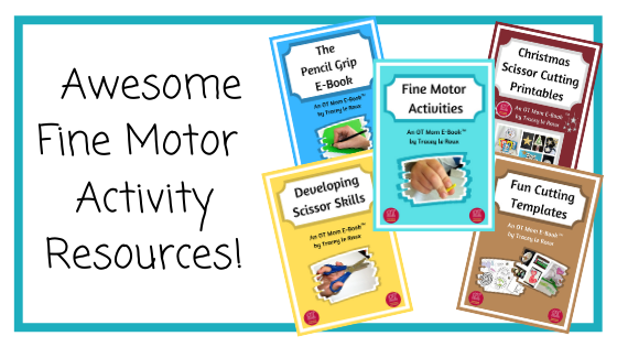 Printable resources to build your child's fine motor skills