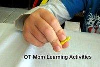 Finger exercises for fine motor skills