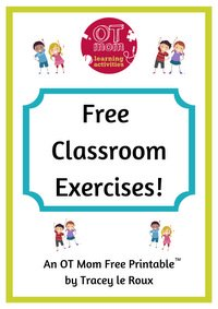 Gross Motor Exercises For The Classroom
