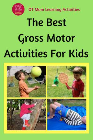 gross motor activities and information