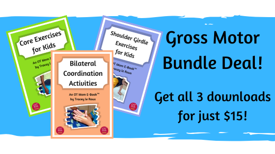 bundle deal of 3 gross motor e-books