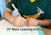 Handwriting can be boosted with fine motor activities!