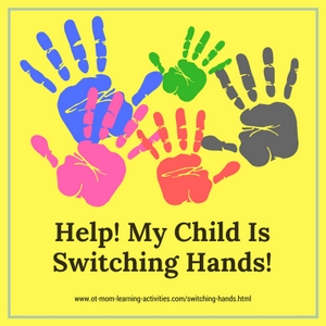 Is your child switching hands?