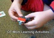 lego fine motor activity