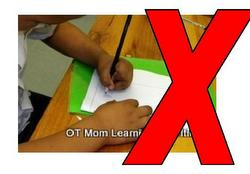 avoid using pencil paper activities to work on letters if your childs fine motor skills are poor