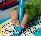 static tripod pencil grip