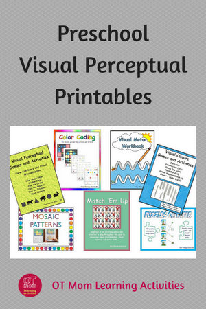 printable visual perception activities for preschool