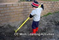 sensory integration heavy work activity