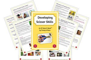 printable resource to help your child with scissor skills