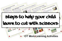 steps to help your child learn to cut with scissors