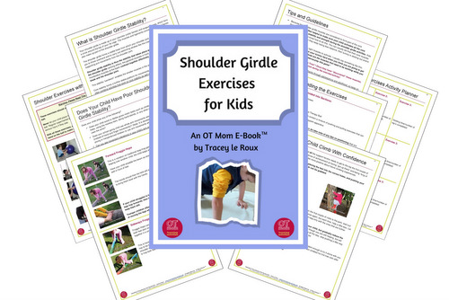 shoulder girdle exercises for kids - upper body strength for kids