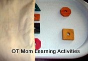 Visual closure preschool activity